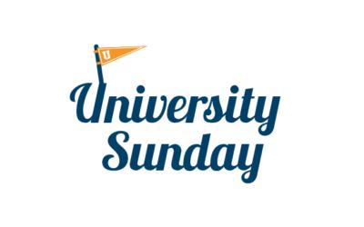 University Sunday