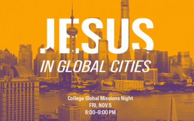 College Global Missions Night